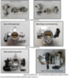 Hydrogen Throttle body injectors
