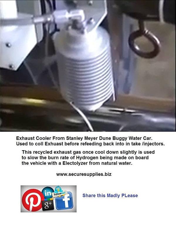Stanley A Meyer EGR Cooler
