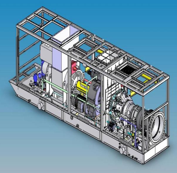 Gas Turbine Power Plant LPG Hydrogen Fuel MW