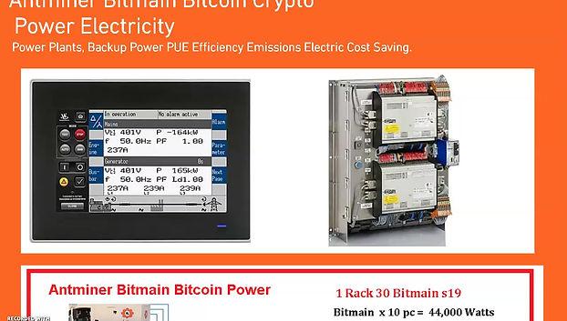 Antminer Bitmain Bitcoin Mining Power Systems