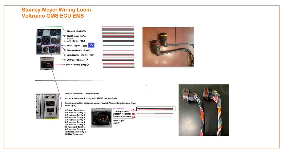 Stanley A Meyer Wiring Loom