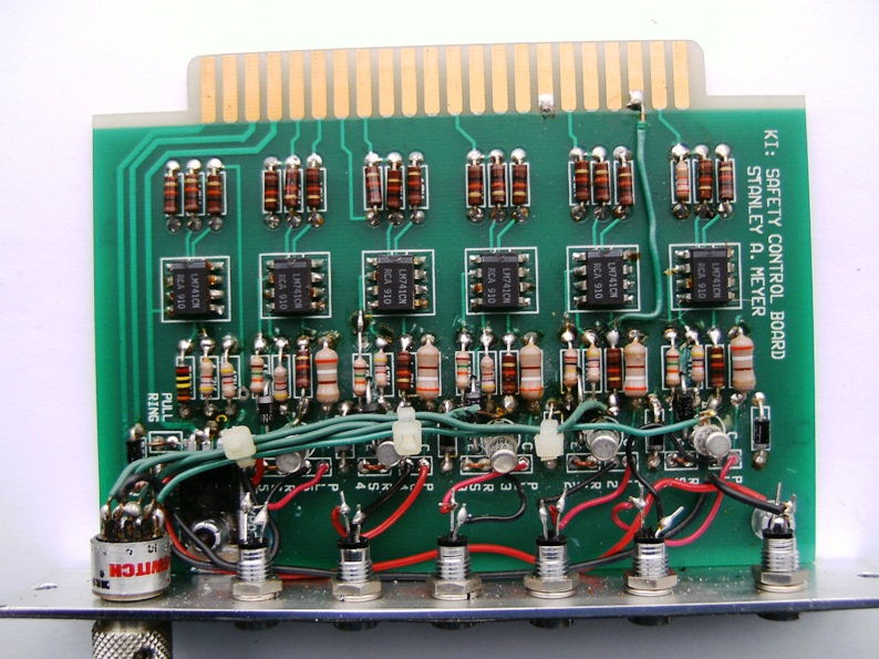 Stanley Meyer Alarm Control Circuit GMS  Front