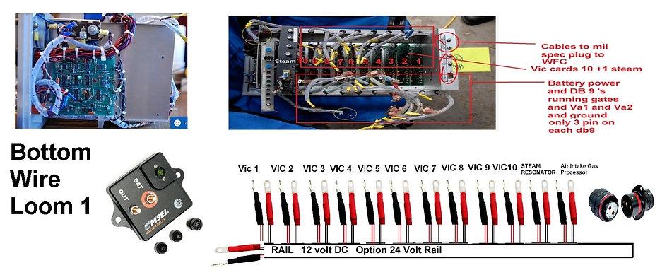 Stanley  Meyer Vic Wiring Loom vic LOOM