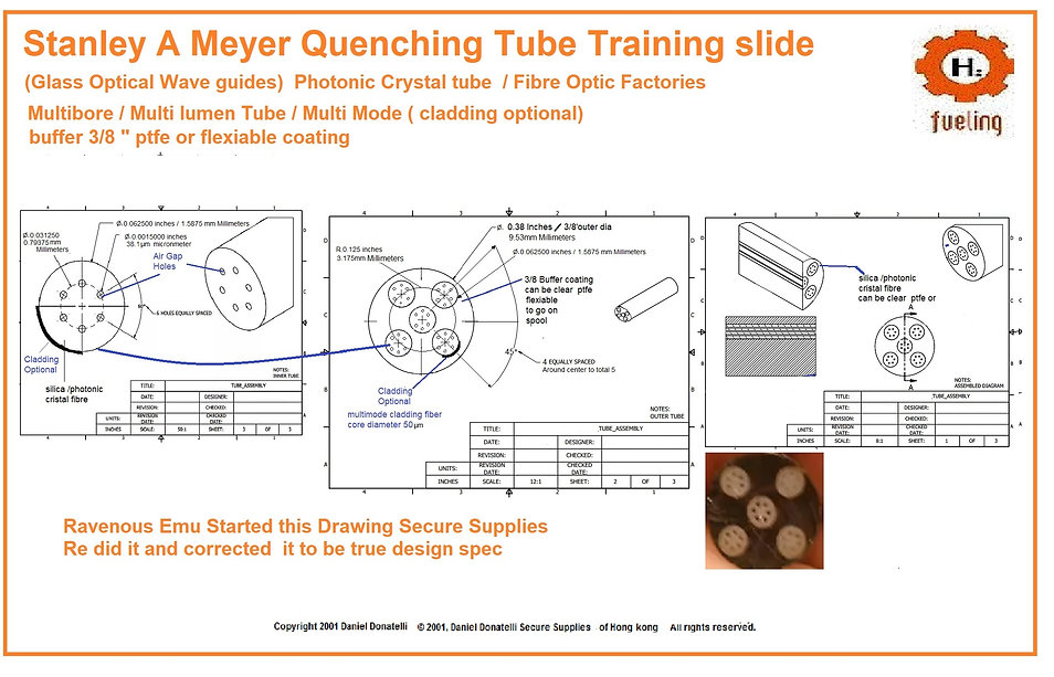 Queching tube Stanley A Meyer
