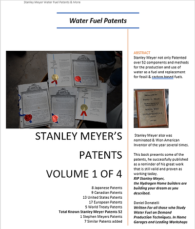 Stanley Meyers Patents The Book Hard Cop