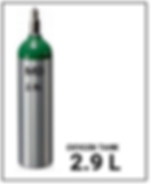 Medical Oxygen 2.9 L Compressed O2.png