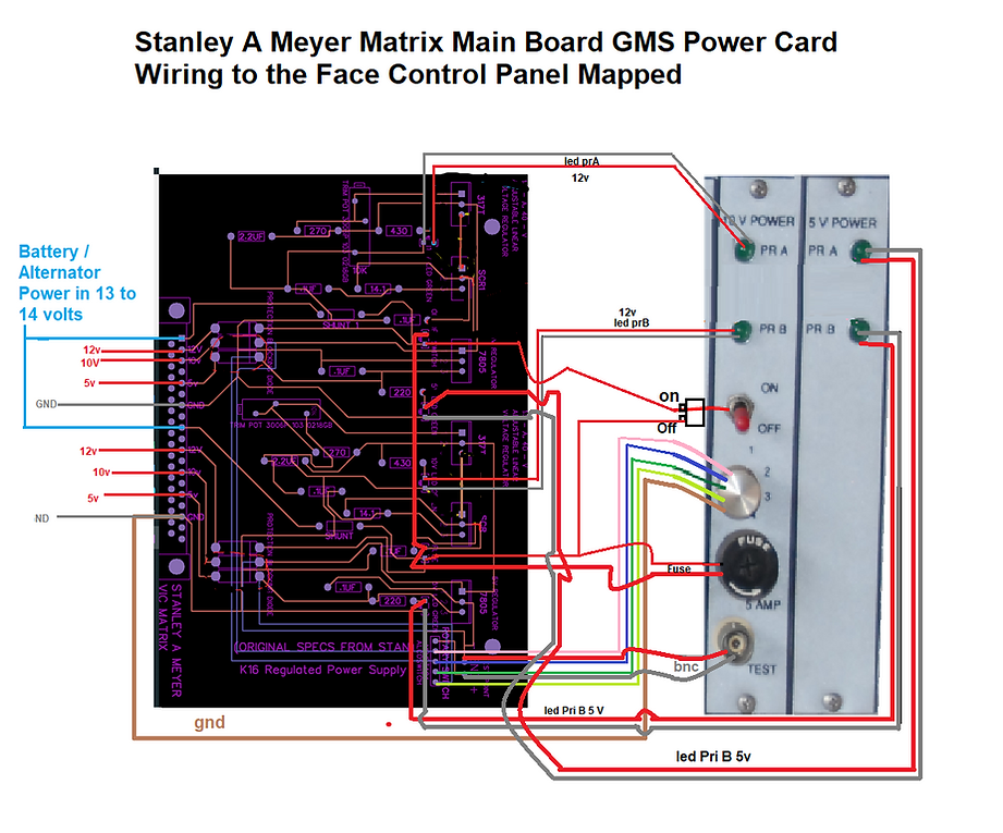 Stanley A Meyer GMS REG Power Supply