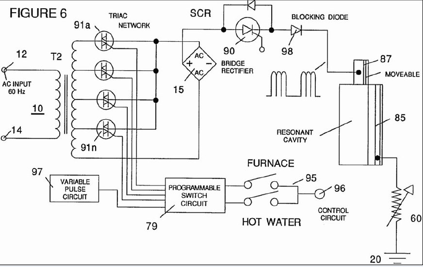 Steam resonator water Fuel Tank