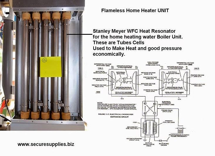 Steam resonator water Fuel Tank
