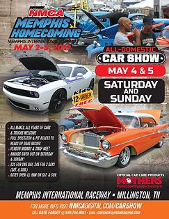 HOT ROD NMCA Memphis Homecoming flyer Ca