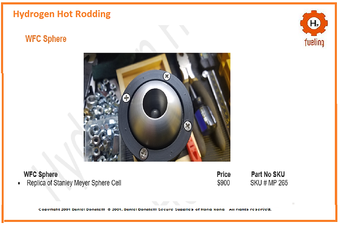 Stanley A Meyer Circuit Parts Plans