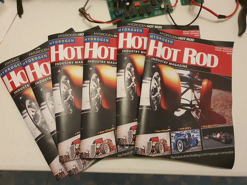 Hydrogen Hot Rod Magazine