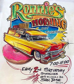 Hot Rod Car Meet up Shpw Event San Jose