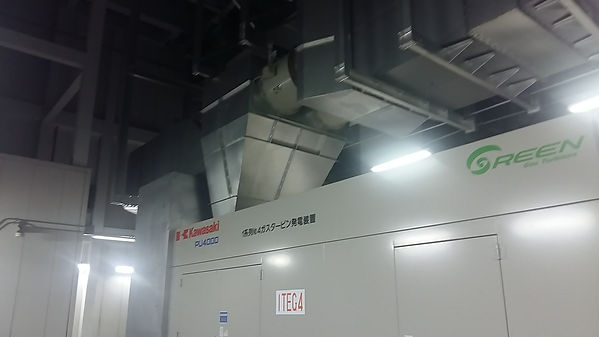 Data Centre Gas Turbines Power PLant Sec