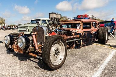 Hydrogen Hot Rod Car Show Event UK USA