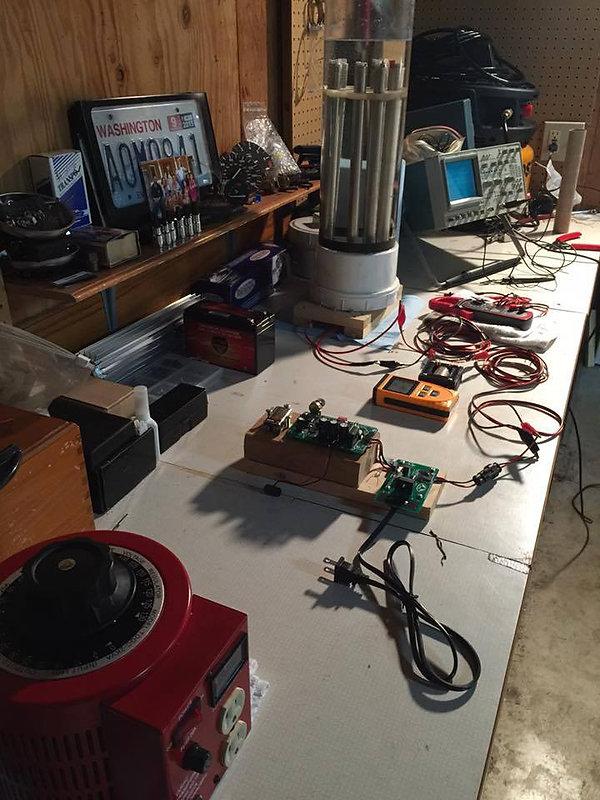 Stanley A Meyer 9xb Circuit voltrolysis
