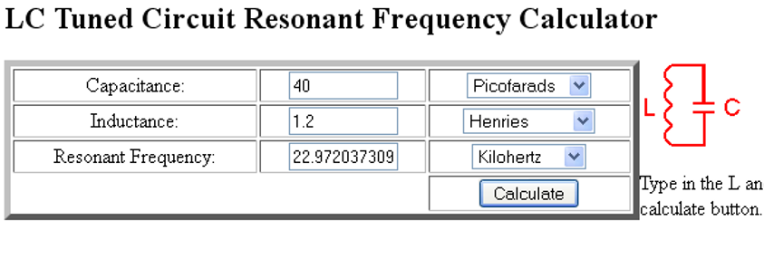 Stanley A Meyer Resonance calculator.bmp