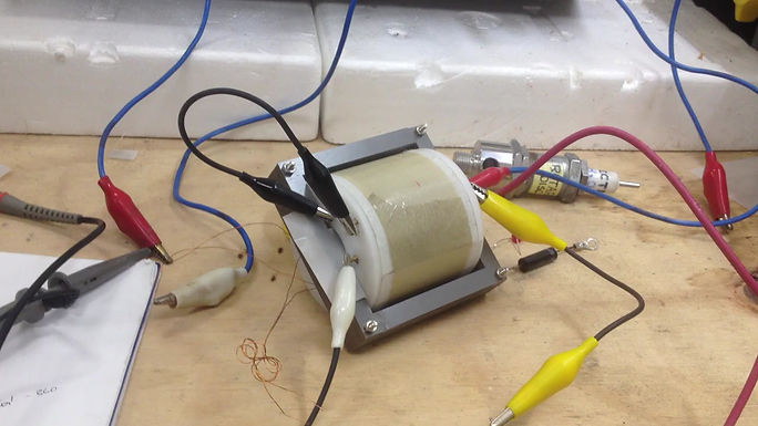 Stanley A Meyer Round Bobbin Vic 2 INjector