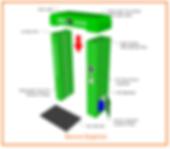 Sanitising Door Way Corona Covid 19 Sar