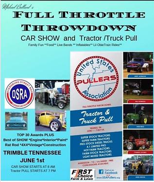 Hot Rod Full Throttle Show Down USA June