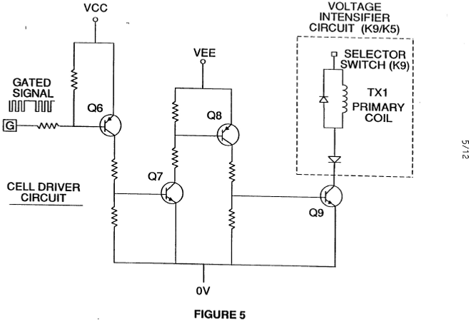 Stanley Meyer Cell Driver Circuit