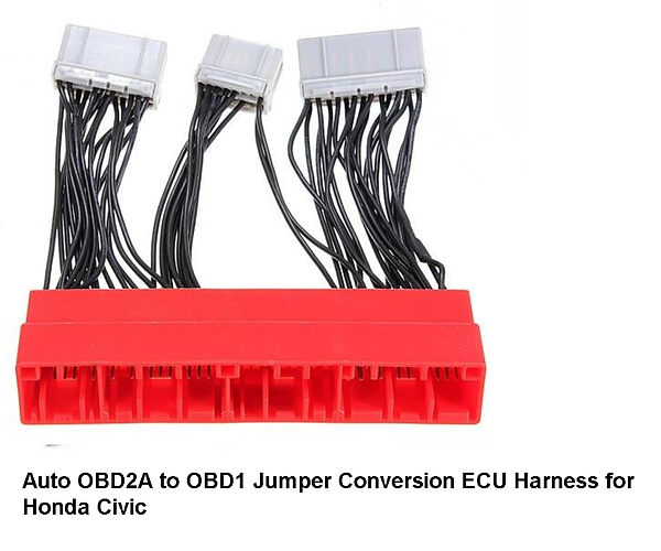 Auto OBD2A to OBD1 Jumper Conversion ECU