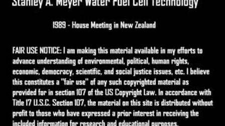 Stanley A Meyer New Zerland House Meeting 1989