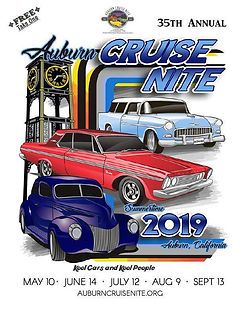 Hot Rod Car Show Cruise Auburncruisenite