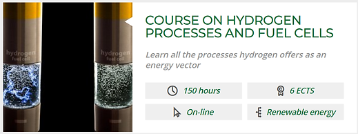 COURSE ON HYDROGEN PROCESSES AND FUEL CE