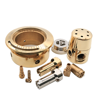 CNC machined brass turned parts.png