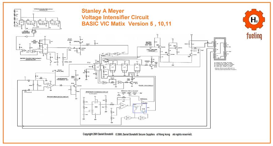 Stanley A Meyer VIC Voltage Intensfier C