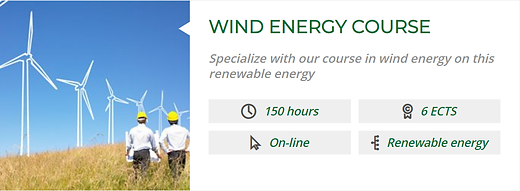 WIND ENERGY COURSE   POWER GAS Hyrdogen