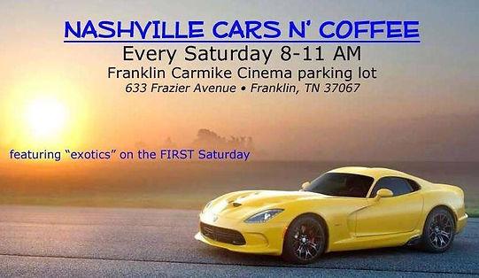 Hot Rods Franklin TN USA SaTurdays Cars