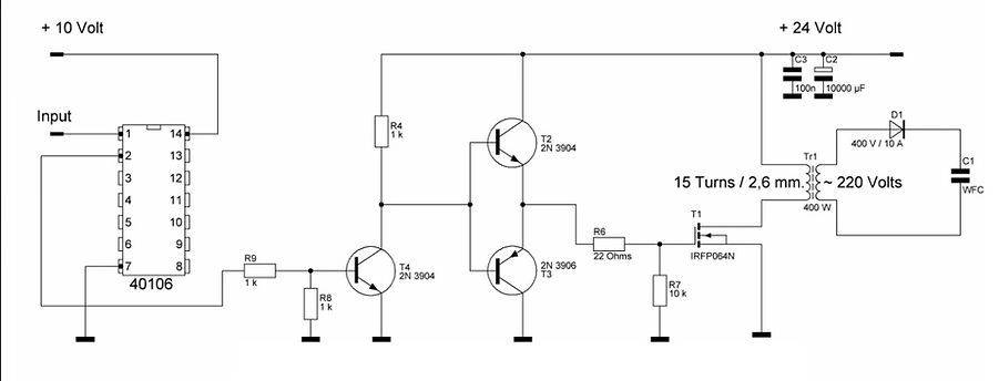 MOSFET Power Driver circuit  Ultra short