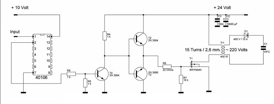 MOSFET Power Driver circuit  Ultra short