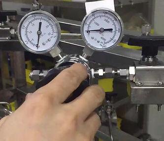 Gas Valve Tap Stainless Swag-lok Swaglok