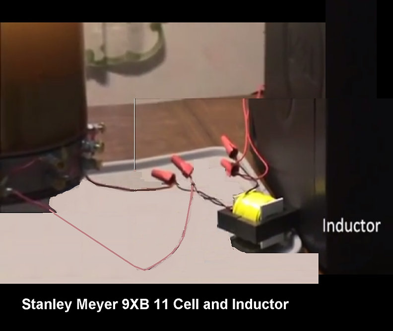 Stanley Meyer 9XB inductor