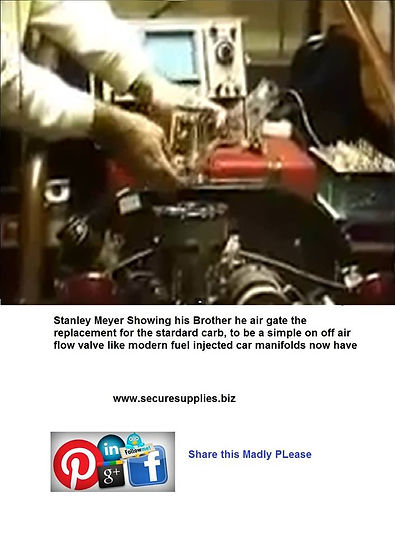 Stanley,Meyer,inlet,manifold,Air,intake,Filter,Restricter,Stanley,Meyer