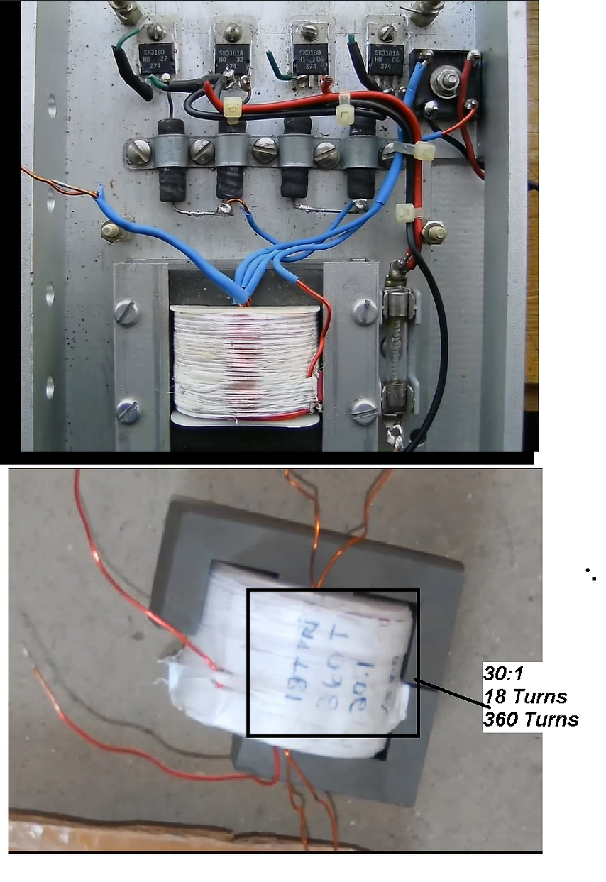 Stanley A Meyer Step up Transformer test