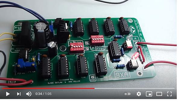 9xa Stanley A Meyer Circuit PLan PCB PWM