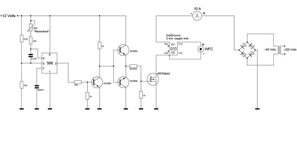 Stanley A Meyer 8xa Circuit Voltrolysis.