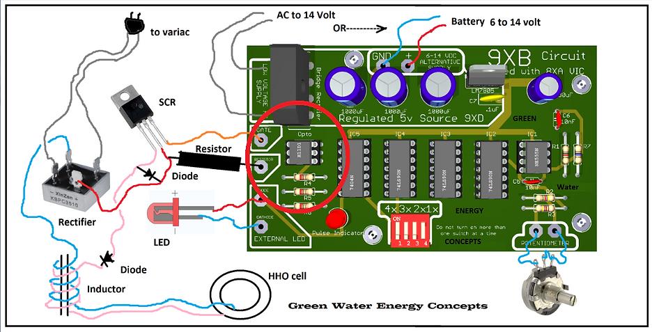 Stanley A Meyer Circuit PWM 9XB