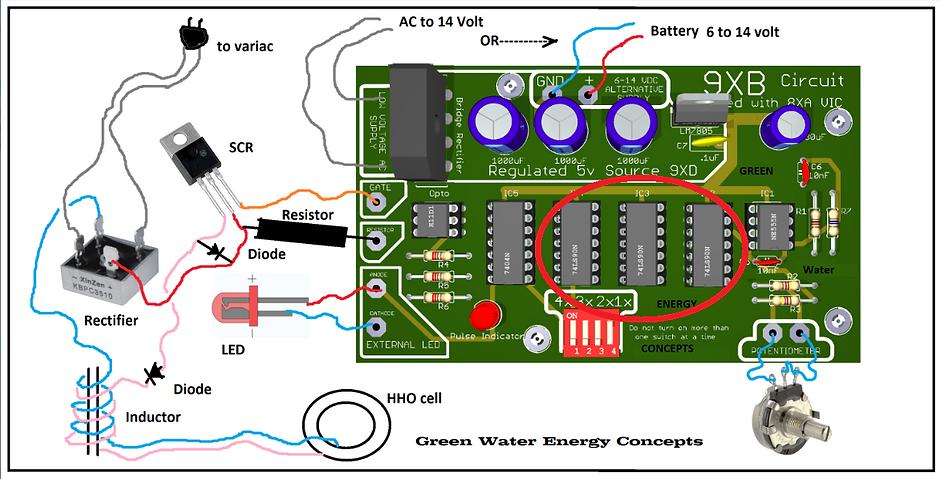 Stanley A Meyer 9XB PWM Circuit