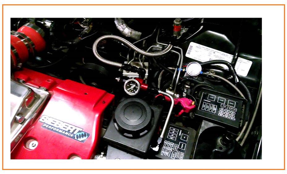Hot Rod Water Fuel Tank HHO Hydrogen