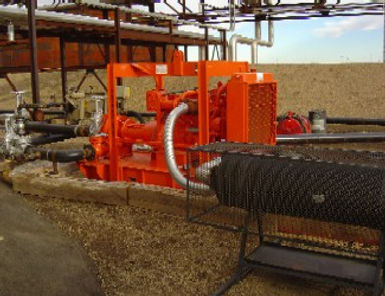 Diesel Engine Generators and Water Pumps Mexico