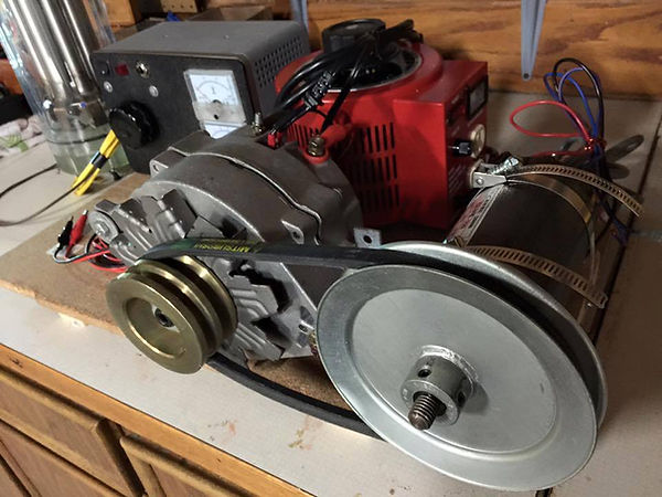 Stanley A Meyer 8XA Alternator
