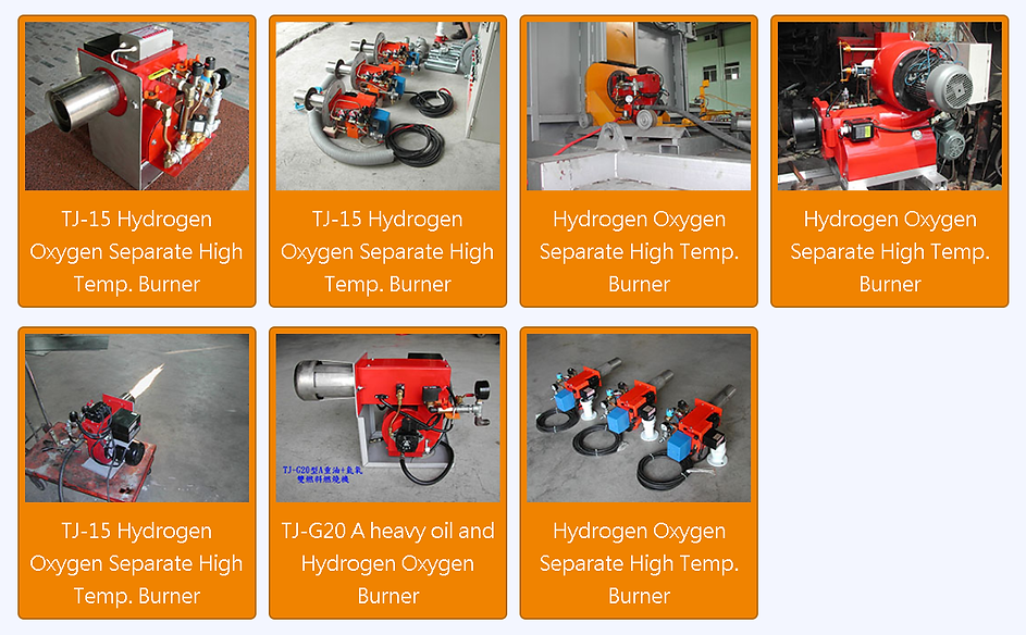 Hydrogen Oxygen Burner H2 Furnae Kiln Bo