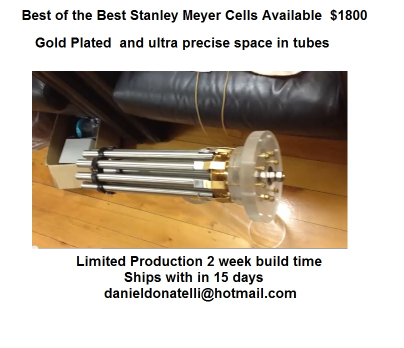 Stanley Meyers Water Fuel Cell