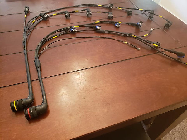 Hydrogen Hot Rod USA Wiring Loom