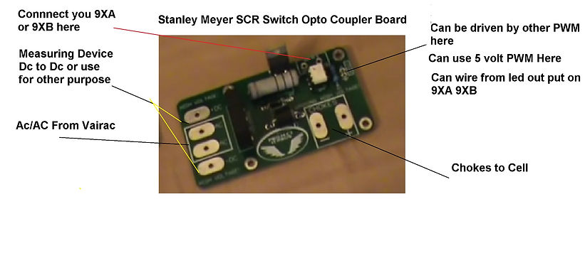 Stanley A Meyer SCR Circuit Switch Gate